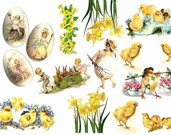 Rice paper for Easter - Decoupage Rice Paper #R073