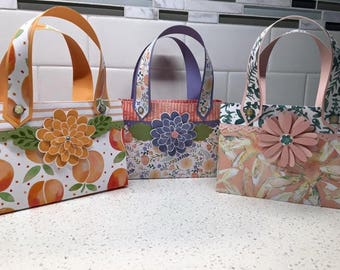 Paper Purse w/4 Coordinating Greeting Cards & Envelopes