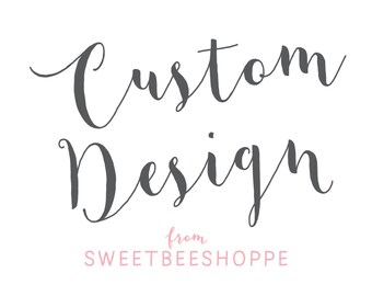 Custom Birth Announcement For Lindsey G. from Sweet Bee Shoppe
