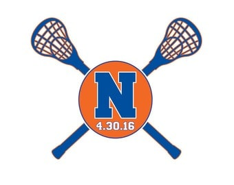 Lacrosse Bar Mitzvah Logo