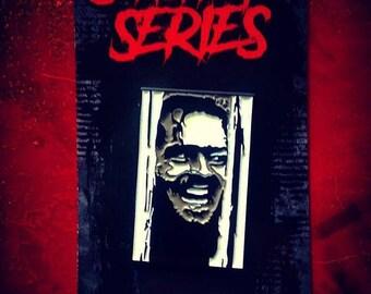 "Slasher Johnny - Slashers Series One ""Glow In The Dark"" 1.5"" Enamel Pin"