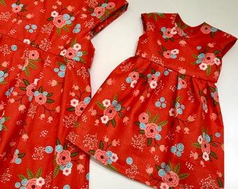 """Matching 18"""" Doll Dress"""