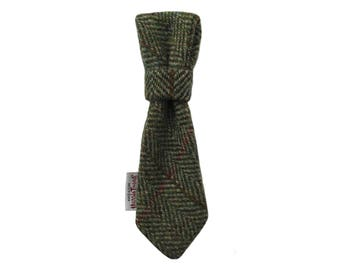 Harris Tweed 'Bailey' Dog Tie To Fit Any Collar