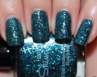 Glitter Nail Polish, Nail Polish, Indie Nail Polish, Indie Polish, Artisan Nail Polish, Indie Lacquer, Nail Lacquer, ~MERMAID TAILS~