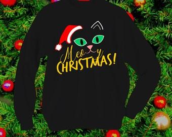 Meowy Christmas! - Christmas Sweater