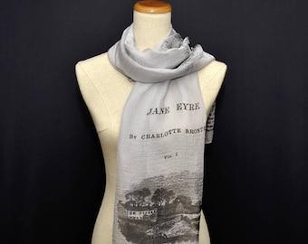 Jane Eyre Chiffon scarf, summer scarf, light scarf, Spring scarf