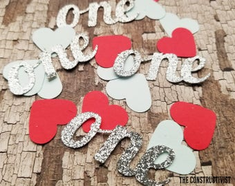 25 2-Inch》ONE《 Confetti/Table Scatter/Birthday/Photoshoot/Cake Smash/Party Supplies/Decor