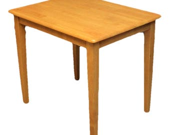 Small Contemporary Beech Dining Table