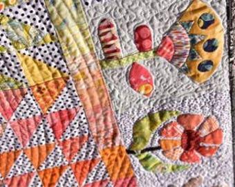 Meadow quilt pattern from Jen Kingwell design