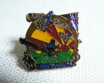 Vintage Early Late 70s Lynyrd Skynyrd - Free Bird - Enamel Pin / Button / Badge