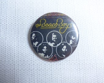 Vintage 70s The Beach Boys - 15 Big Ones Album (1976)  Pin / Button / Badge