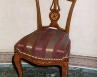 Baroque Chair Rococo antique style MoCh0872