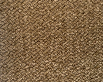 Light Brown Zig Zag - Upholstery Fabric by The Yard