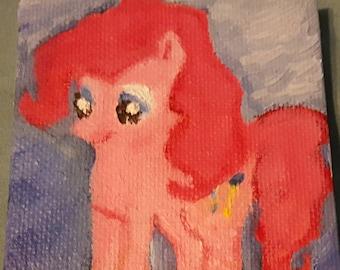Pinkie Pie Painting
