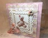 Teddy Bear Baby Card