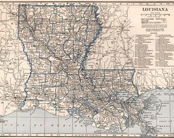 BOSTON MASSACHUSETTS CITY Colorful Antique Map Perfect - Us map 1930