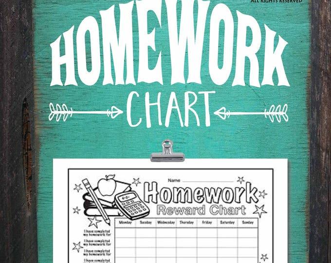 homework, homework chart, homework tracker, homework schedule, homework display