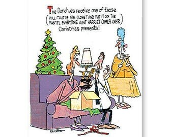 Funny Christmas Card - One Of Those Gifts - 18 Cards and Envelopes - 20072
