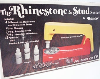The Rhinestone & Stud Setter And Studs By Ronco Vintage