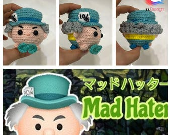 Tsum Tsum Mad Hatter (Alice in wonderland) Pattern