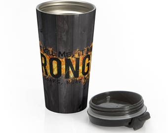 Stronger Stainless Steel Travel Mug