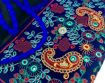 Banjara Bags, Boho Clutch, Gypsy Clutch, Ethnic Bags, Banjara Clutch, iPad Case, Vintage, Boho Bags, Silk Purse, Bridal Purse, Gift Ideas