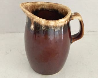 Hull Brown Drip Cream or Syrup Pitcher