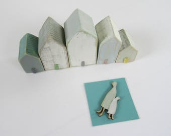 Wooden Houses (A set of 5)