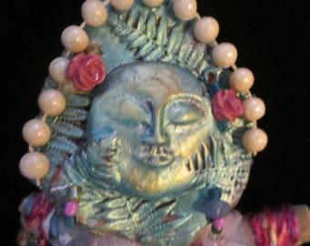 Lili Rose Goddess Doll. Assemblage OOAK Art Doll.