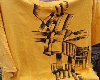 Haitian Painted shirt