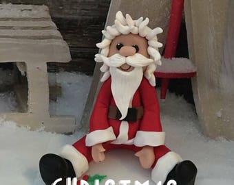 Father Christmas/santa figure - decoration, sculpture or cake topper