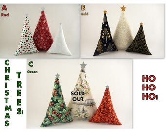 Christmas Decor! GREAT for mantel, Christmas Tree Pillow, Holiday Season Gift Idea!