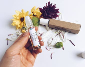AUTUMN LEAVES Natural Roll-On Perfume | Natural Perfume