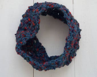 Chunky Cowl, Crochet Cowl, Neckwarmer