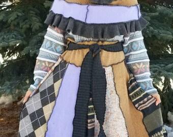 Upcycled Sweater Coat