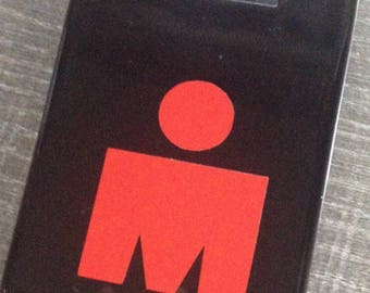 Ironman Triathlon M-dot Vinyl Sticker - large