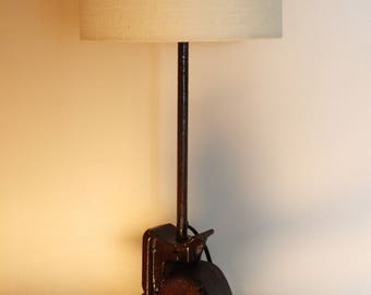 Old American adapted Jack into a lamp