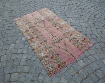 Old rug,37''x67''- 94x170cm,Anatolian rug,tribal rug,decorative rug,tribal rug,little rug,vintage rug,accent rug,Anatolian rug