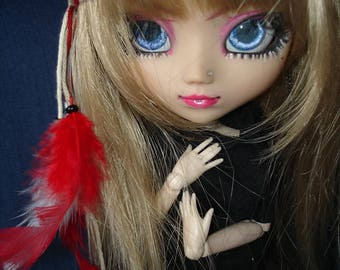 Pullip feathered headband
