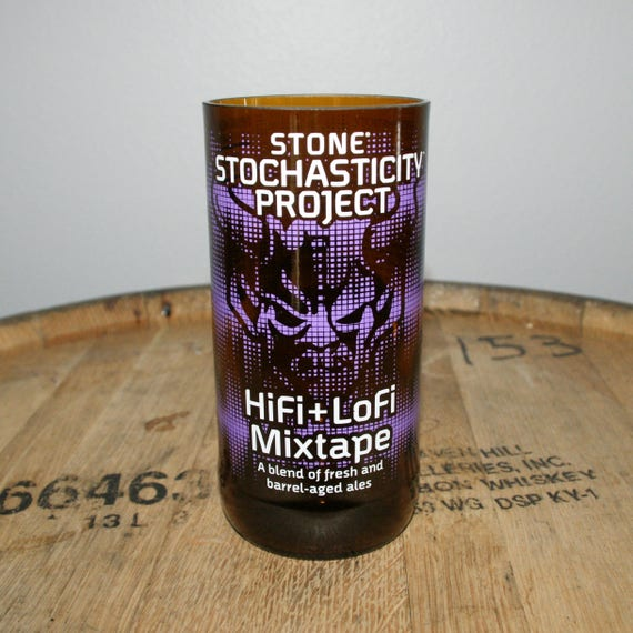 UPcycled Pint Glass - Stone Brewing Co. - HiFi + LoFi Mixtape