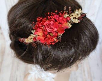 Headband - Autumn flower