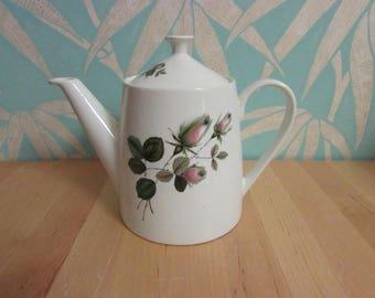 "1950s Johnson Bros Snowhite ""Rose"" teapot"