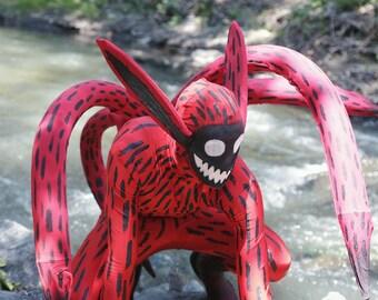 Naruto Kyuubi 4 Tail Cosplay Costume