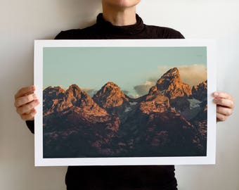 Grand Teton 1096 Art Print, Grand Teton National Park, Wyoming Landscape
