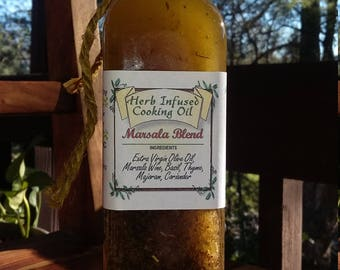 Herb Infused Marsala Cooking Oil