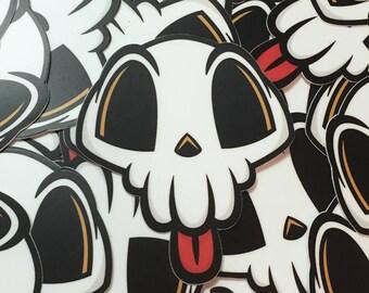 Lil' Skull Sticker