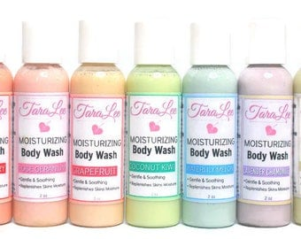 Custom Natural Body Wash - Choose Scent, Size, & Color -  Body Cleanser, Natural Body Cleanser- Over 20 Scents