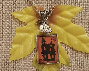 Halloween Necklace, Free Shipping