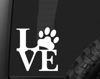 PUPPY LOVE Sticker - car decal