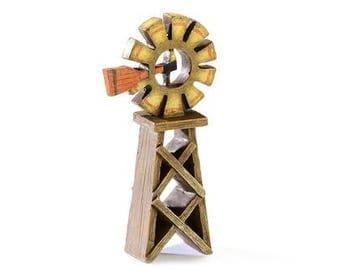 Fairy Garden  - Harvest Windmill - Miniature